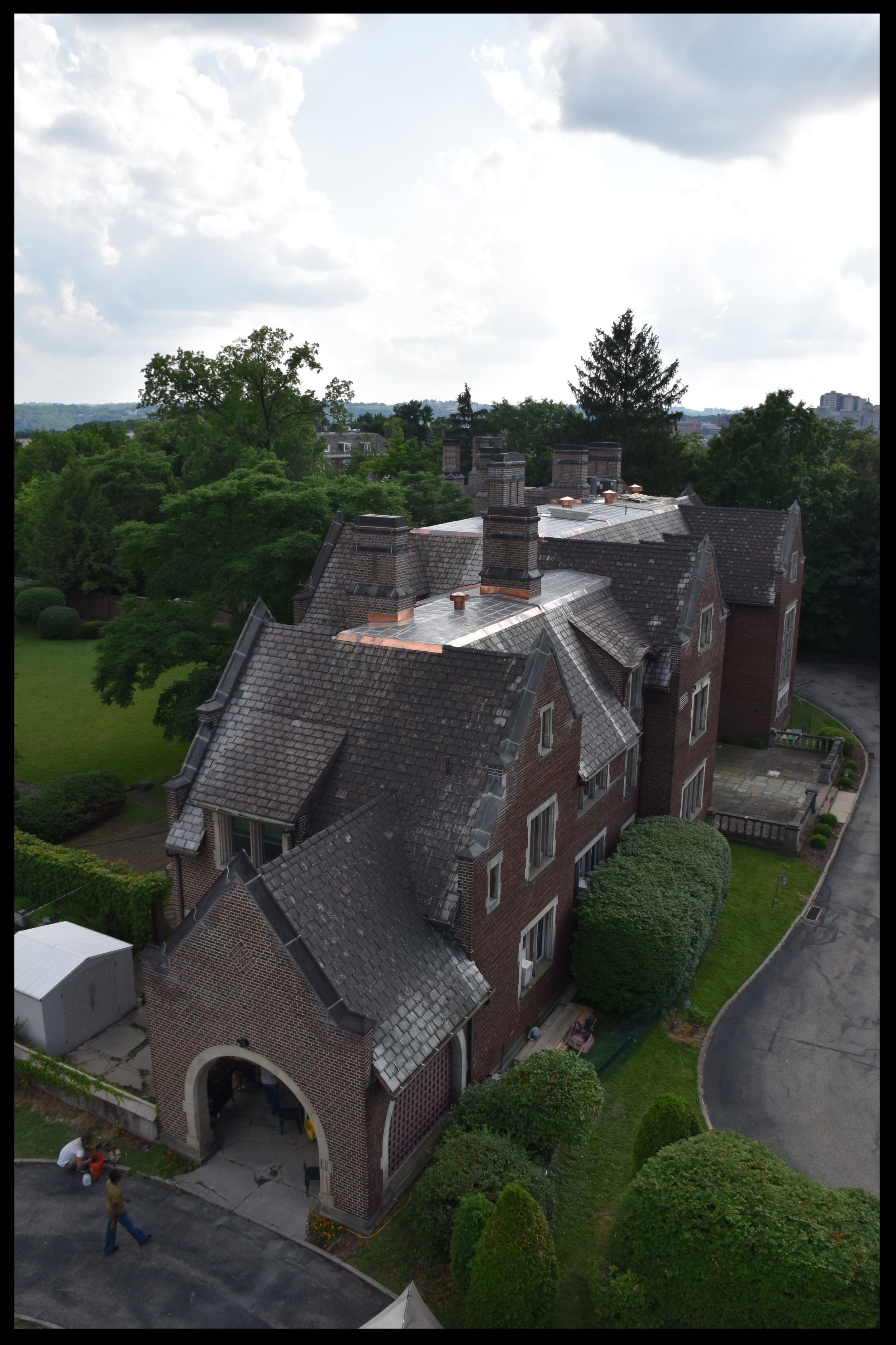 Heinz Mansion Restoration - Complete restoration of Heinz Mansion (now Warwick Foundation) located in Pittsburgh, PA. (Completed July 2016).