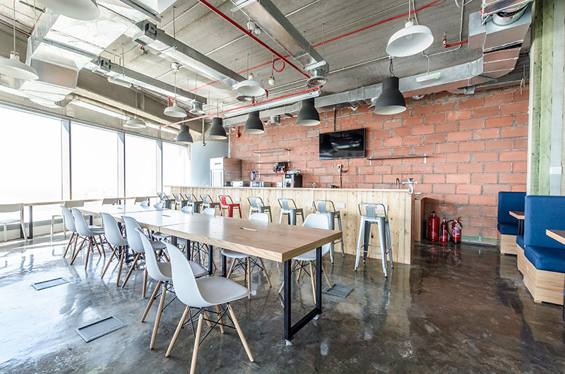 FULLY OCCUPIED: Join the Waiting List  Level 35, Sky Tower, Reem Island, Abu Dhabi.  The UAE's 1st coworking workspace. A sprawling 20,000 square foot Coworking & Private facility includes a 2,000 square foot coffee bar lounge, a billiards & arcade room.  Let GQC help you grow your business & your dreams.