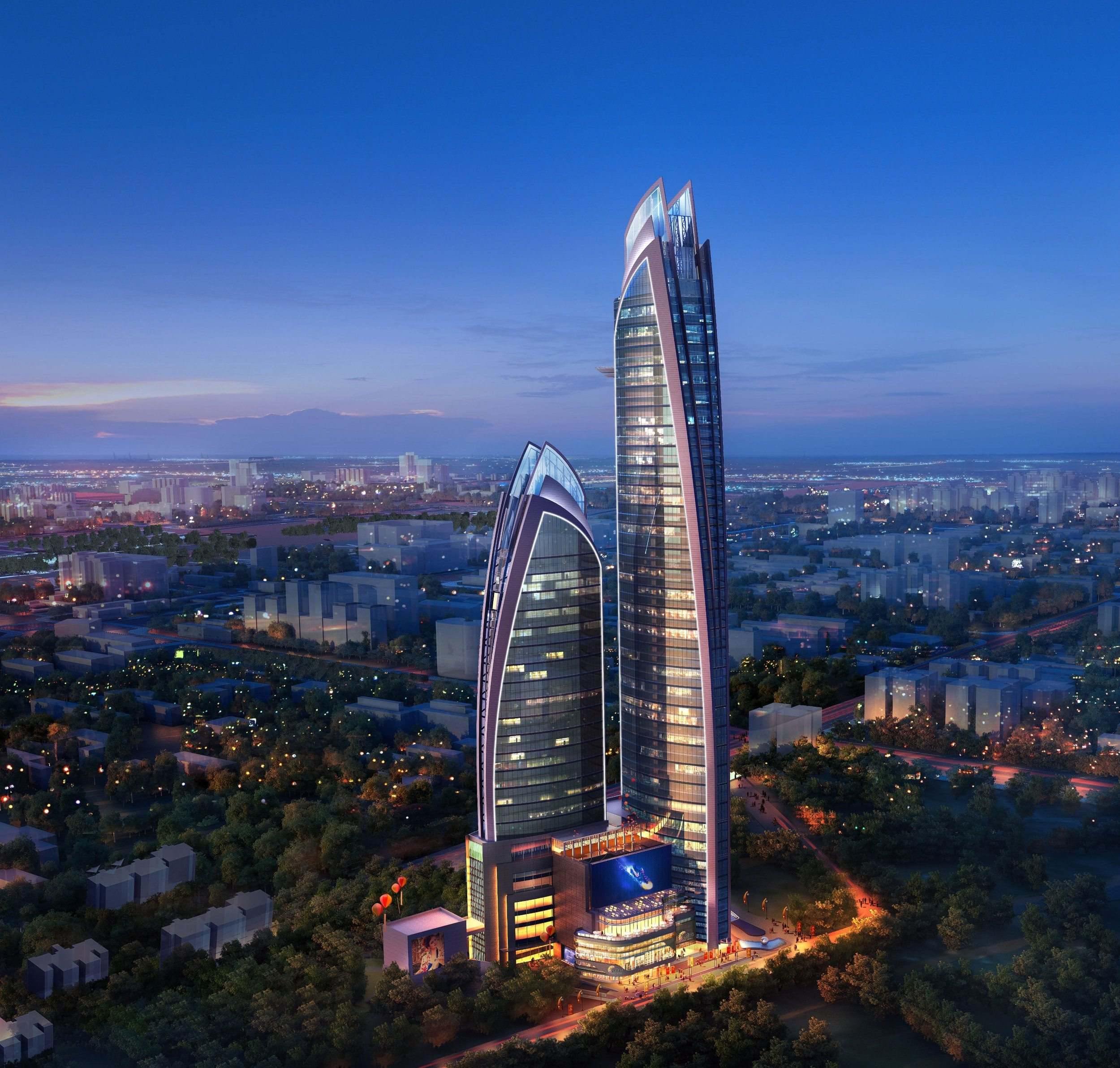 OPENS Q1-2020  Our second project in Nairobi and a continuation of GlassQube's MENA portfolio expansion. This upcoming project is located in Nairobi's most luxurious, sought after office tower.