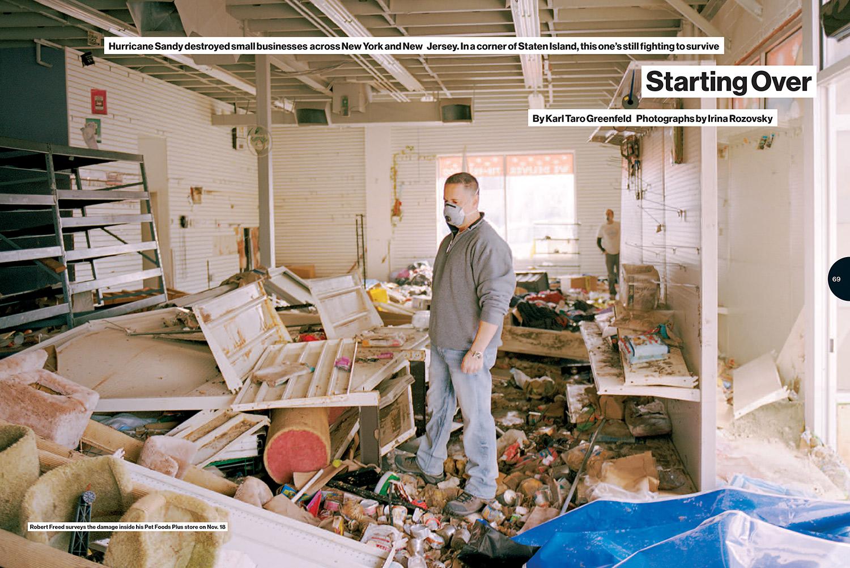 Starting Over AfterSandy  Photographer Irina Rozovsky