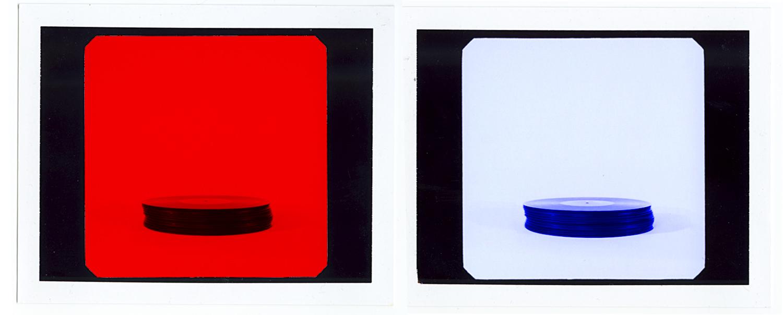 American Music Stack, 2011  Unique Polaroids