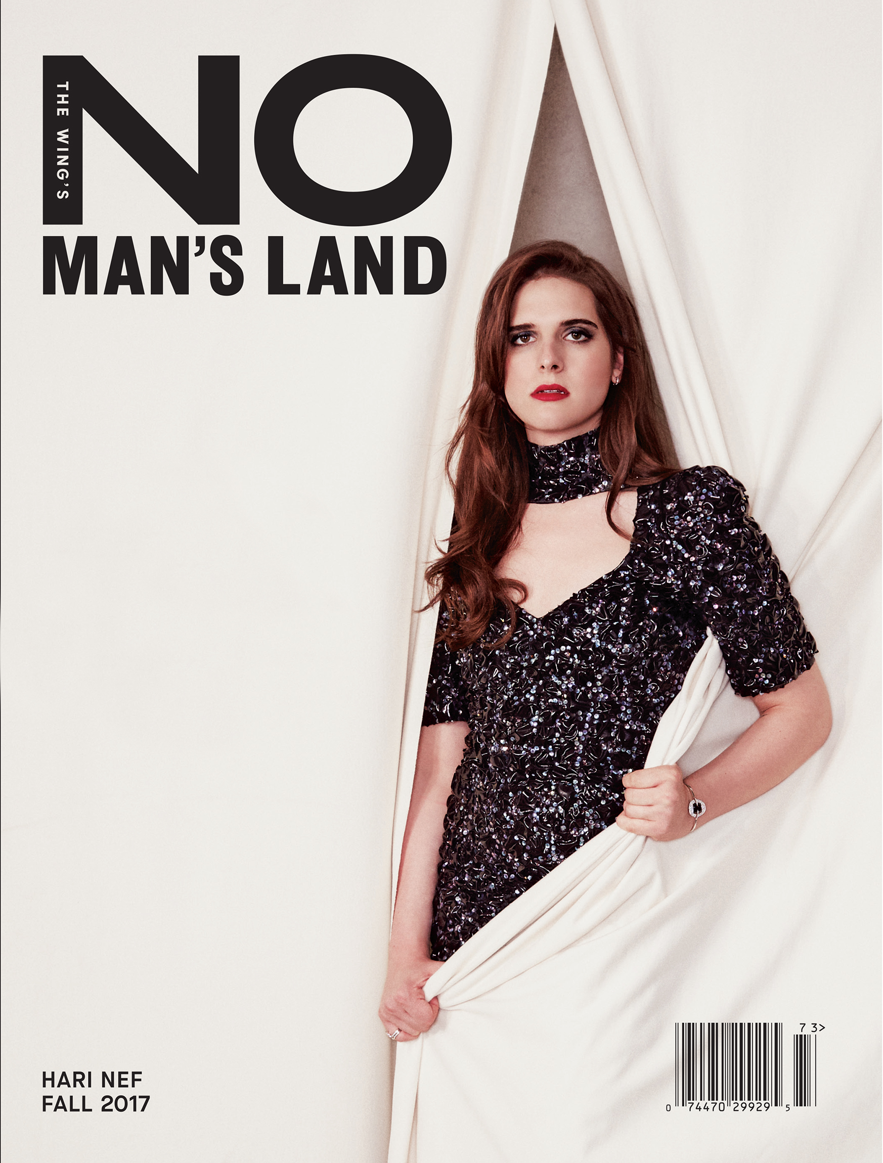 No Man's Land - Winter 2017  Photo Direction by Emily Keegin  Photographer: Kathy Lo  Fashion:  Coquito Cassibba   Design: Pentagram