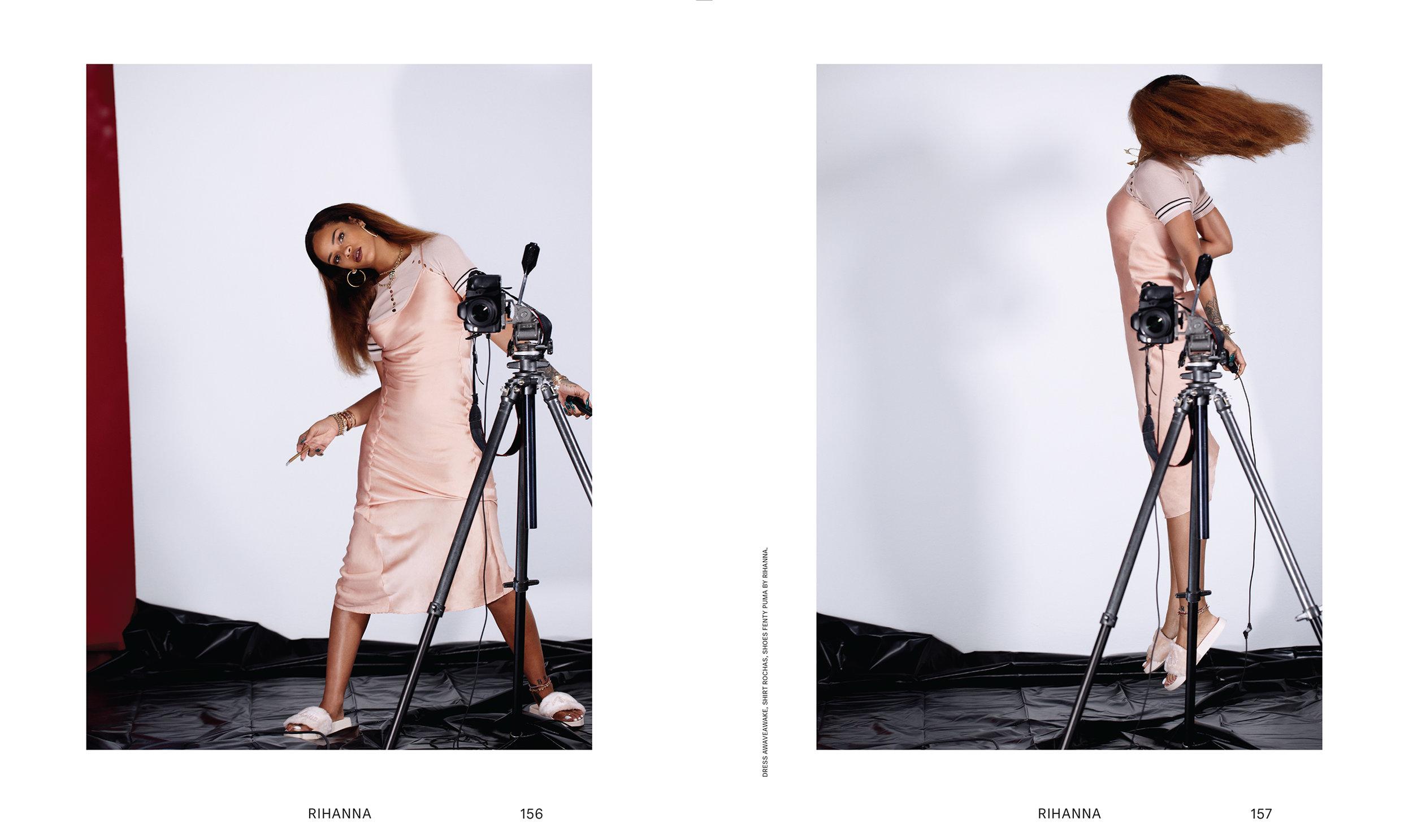 Rihanna (self portrait)   Photo Direction  Photographer: Rihanna x Renata Raksha  Fashion: Shibon Kennedy  For the FADER 2015
