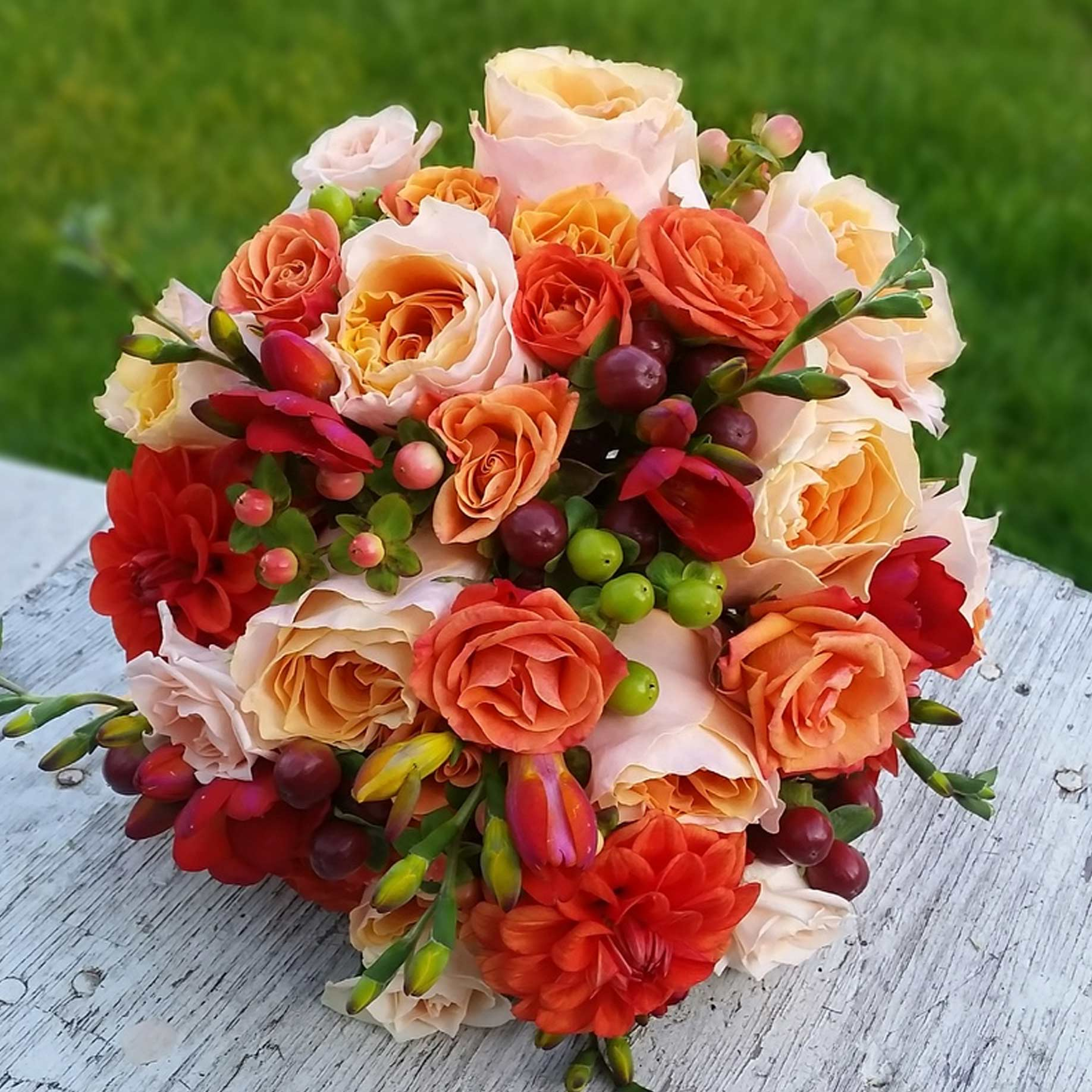 Autumn Weddings - Bouquets, corsages, and more