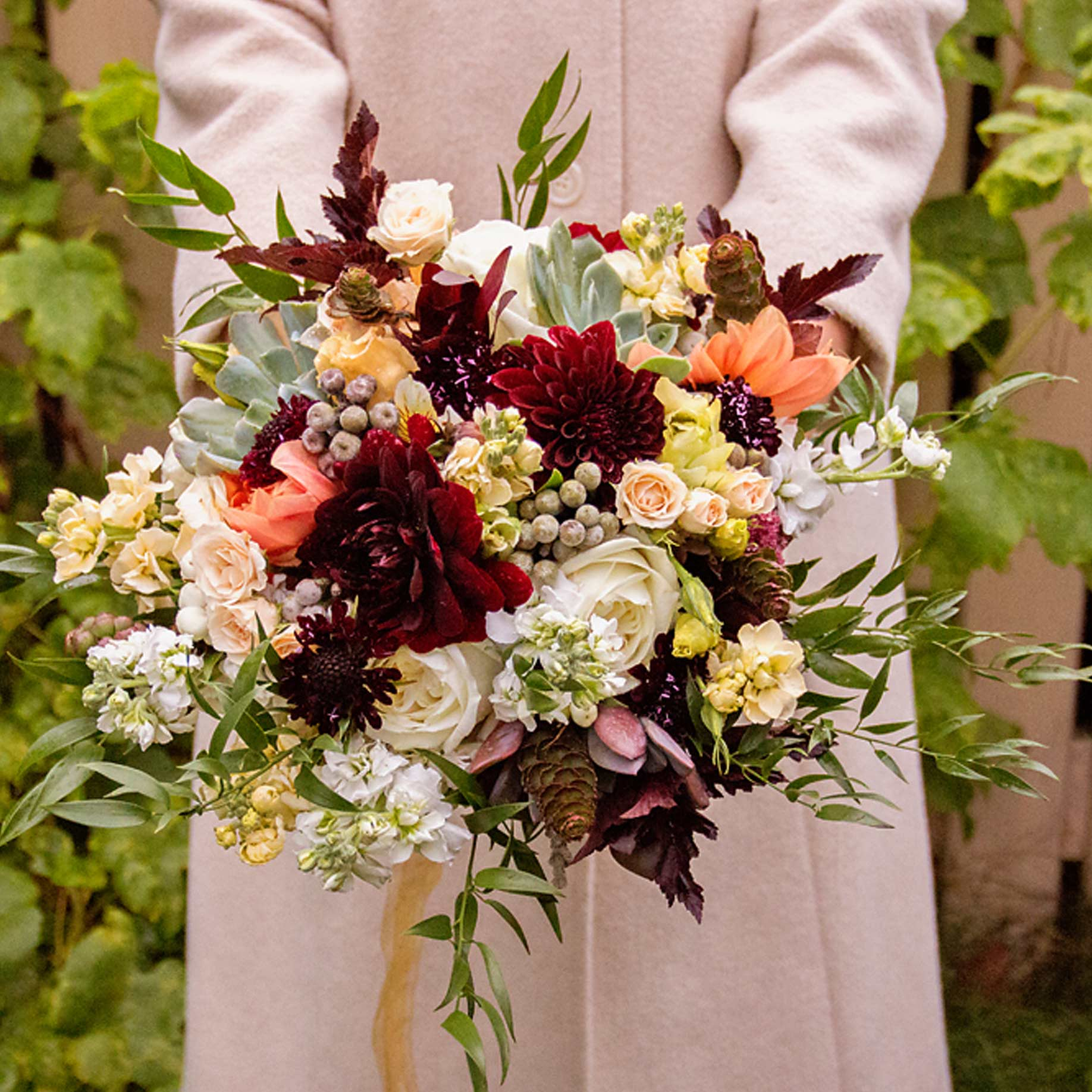 Winter Weddings - Bouquets, Corsages, and more