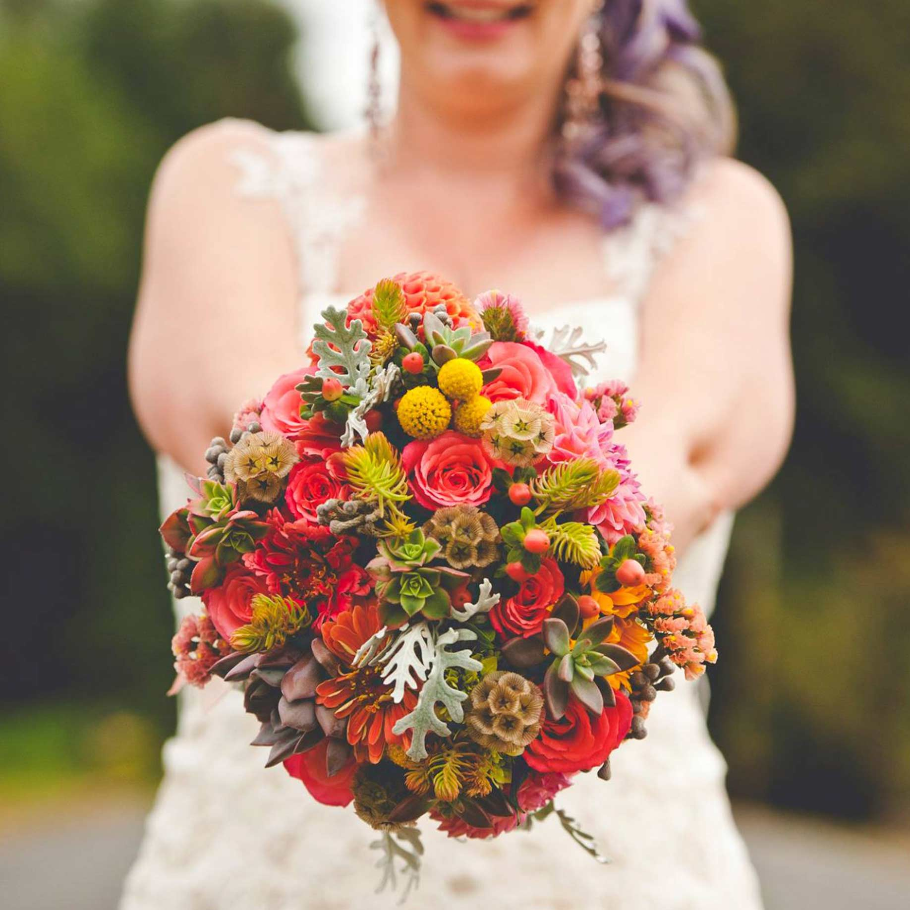 Bridal & Bridesmaid Bouquets - For every season
