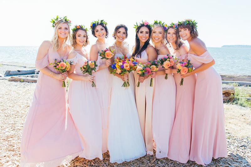 Pozie by Natalie Bridal & Bridesmaid Bouquets