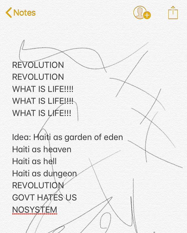 my notes 2 months ago • #haiti