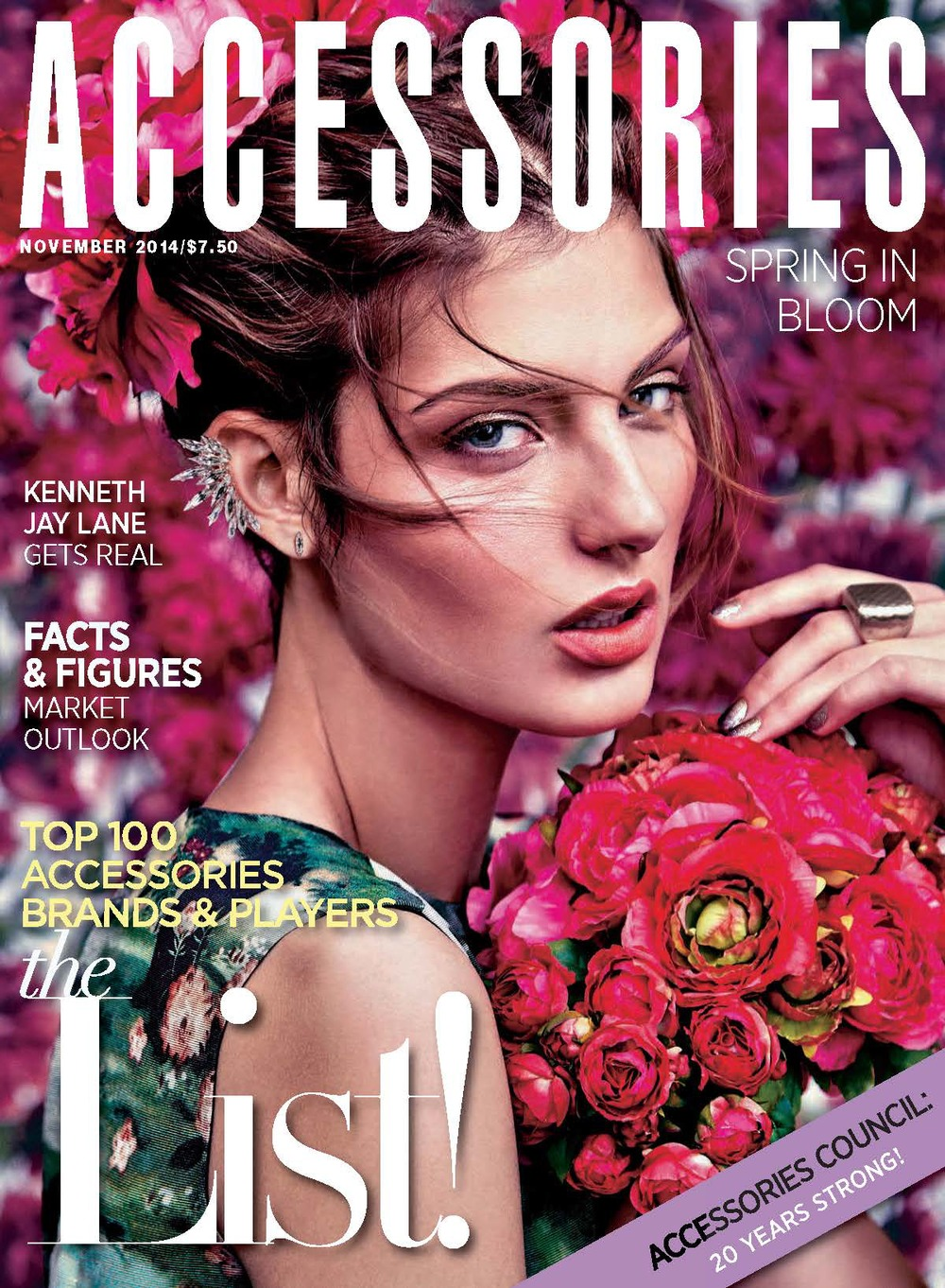 Cover image for Accessories Magazine - November 2014 issue