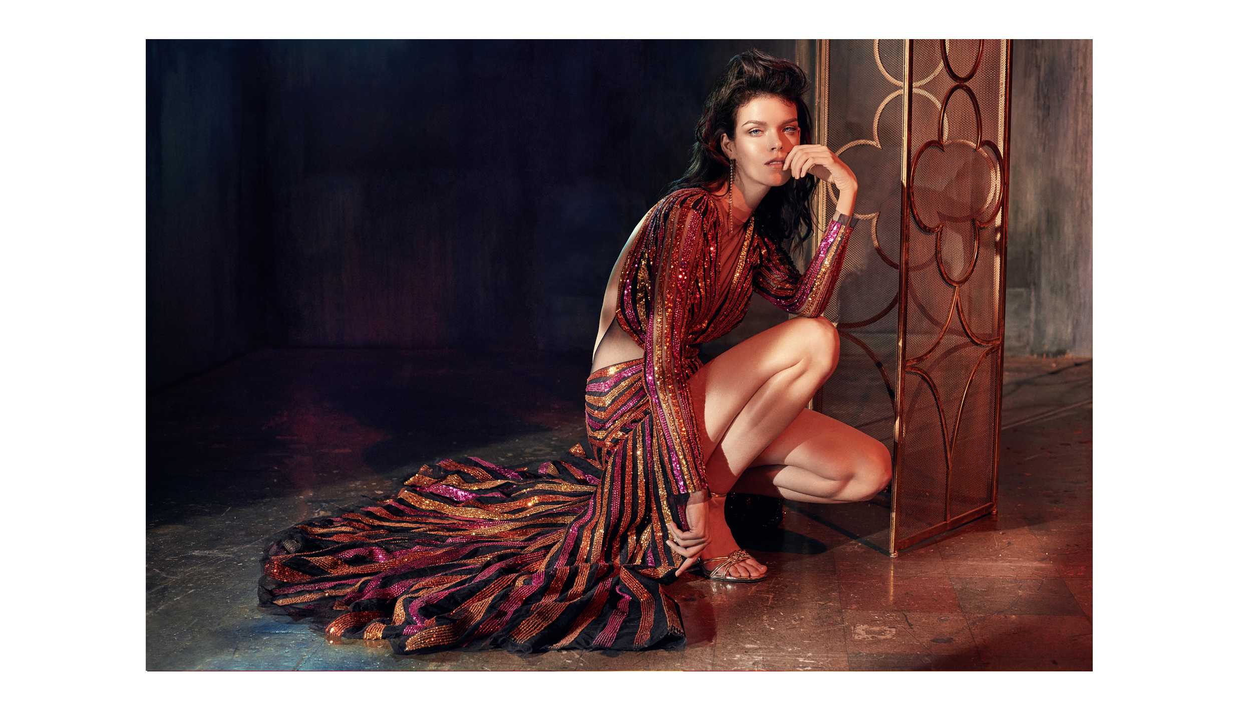 Meghan Collison for Abu Jani Sandeep Campaign