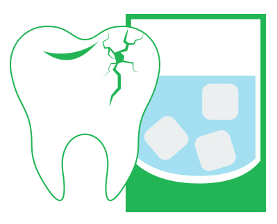 Watch for the warning signs of a cracked tooth.