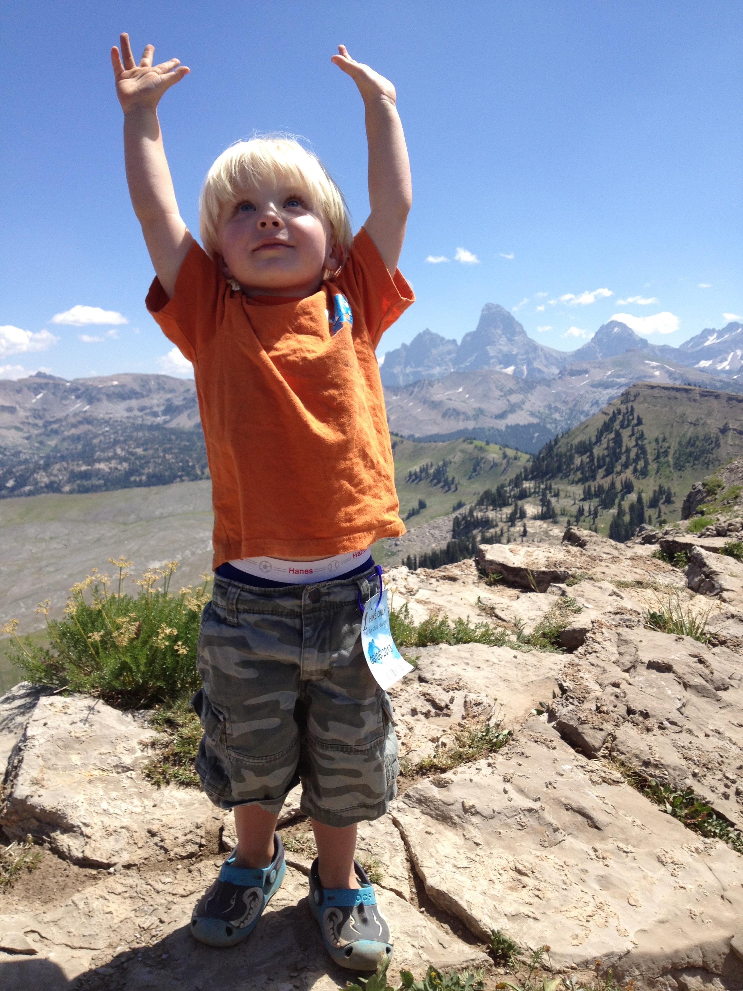 It's easy to overlook my children's uniqueness, as it is God's vastness.