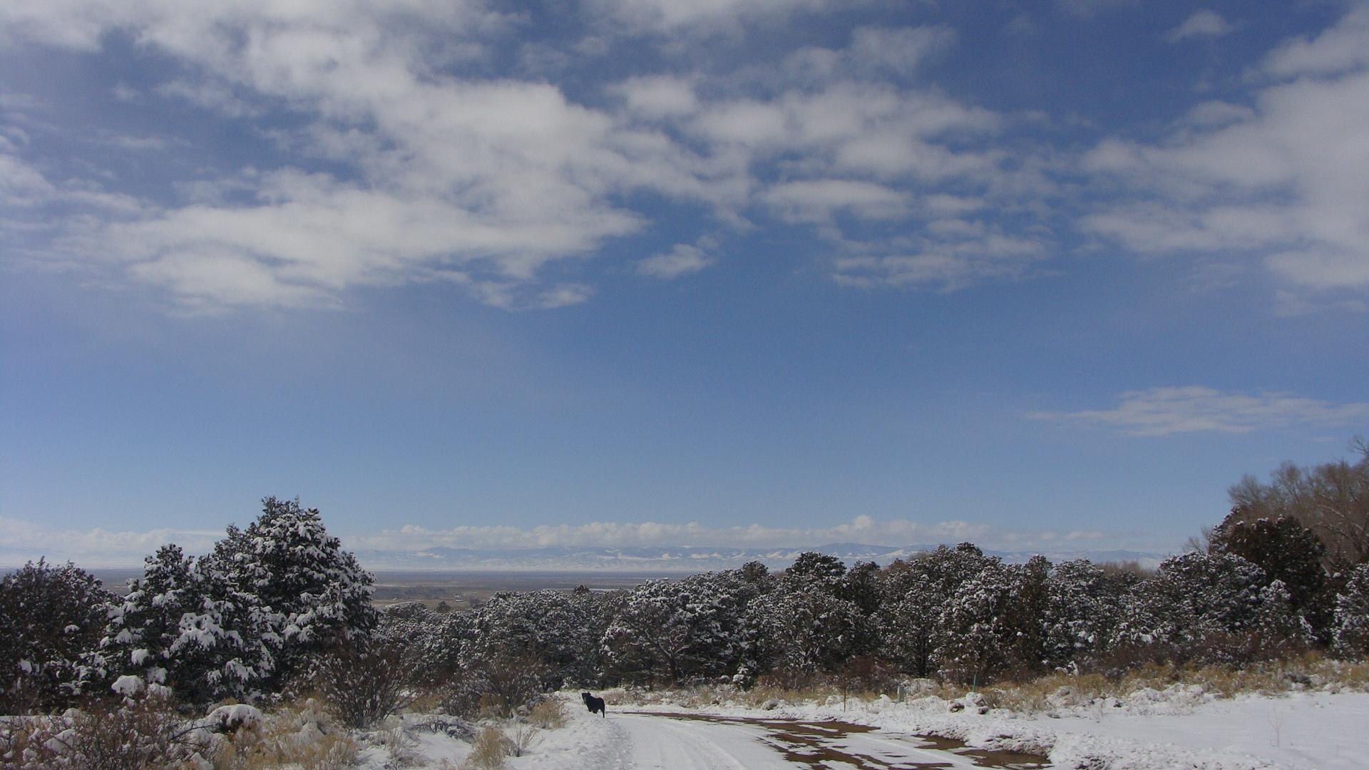 crestone snowy horizon