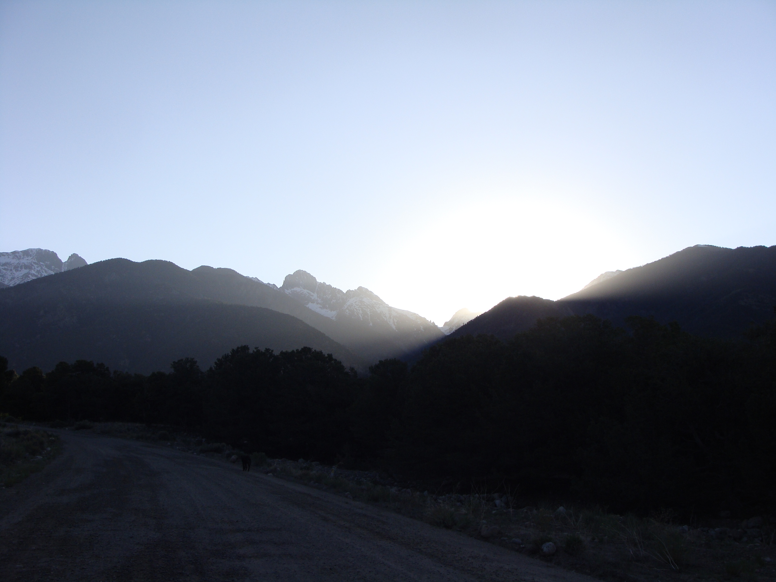 Sunrise over the Sangres