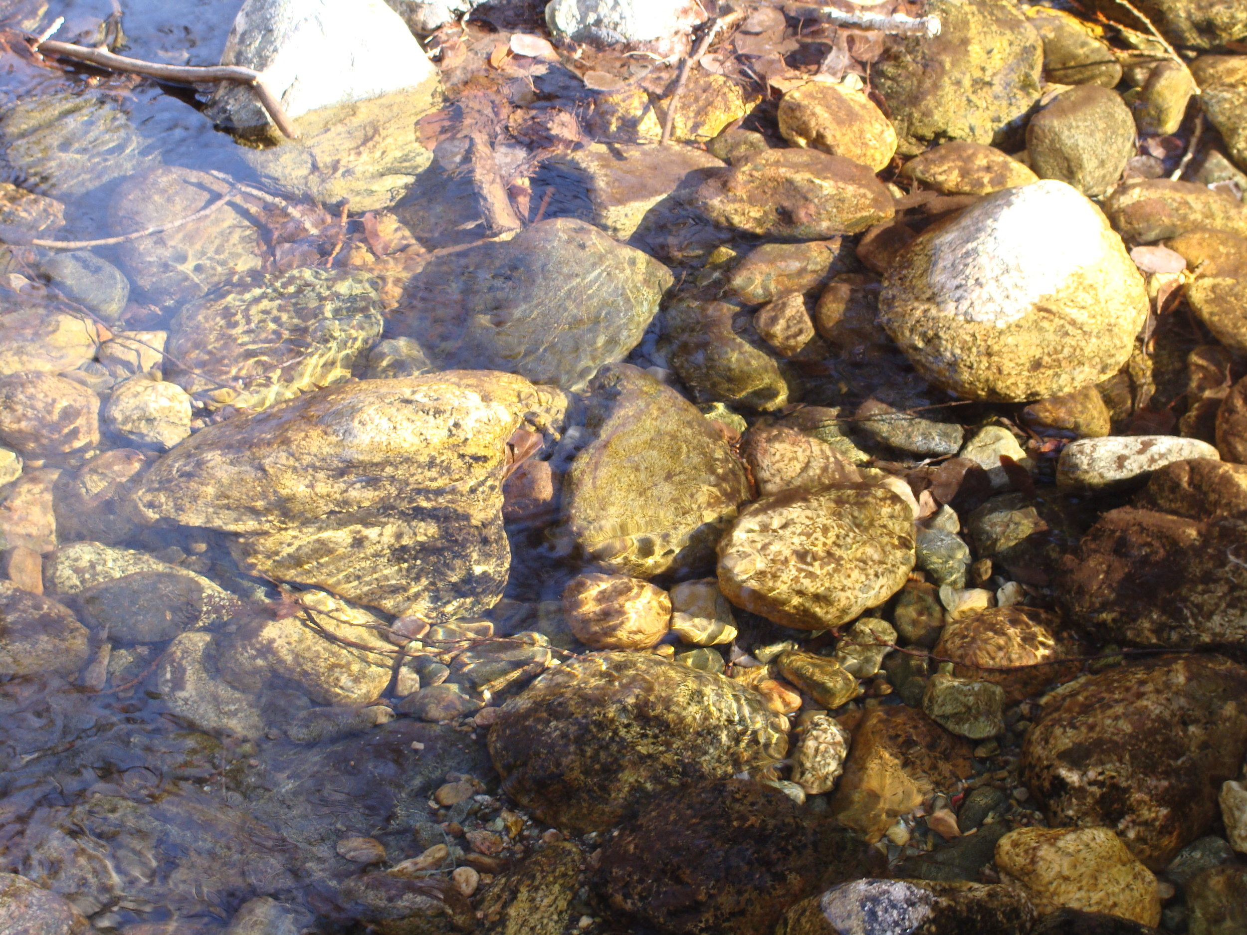 May we have the clarity and flow of a mountain stream.