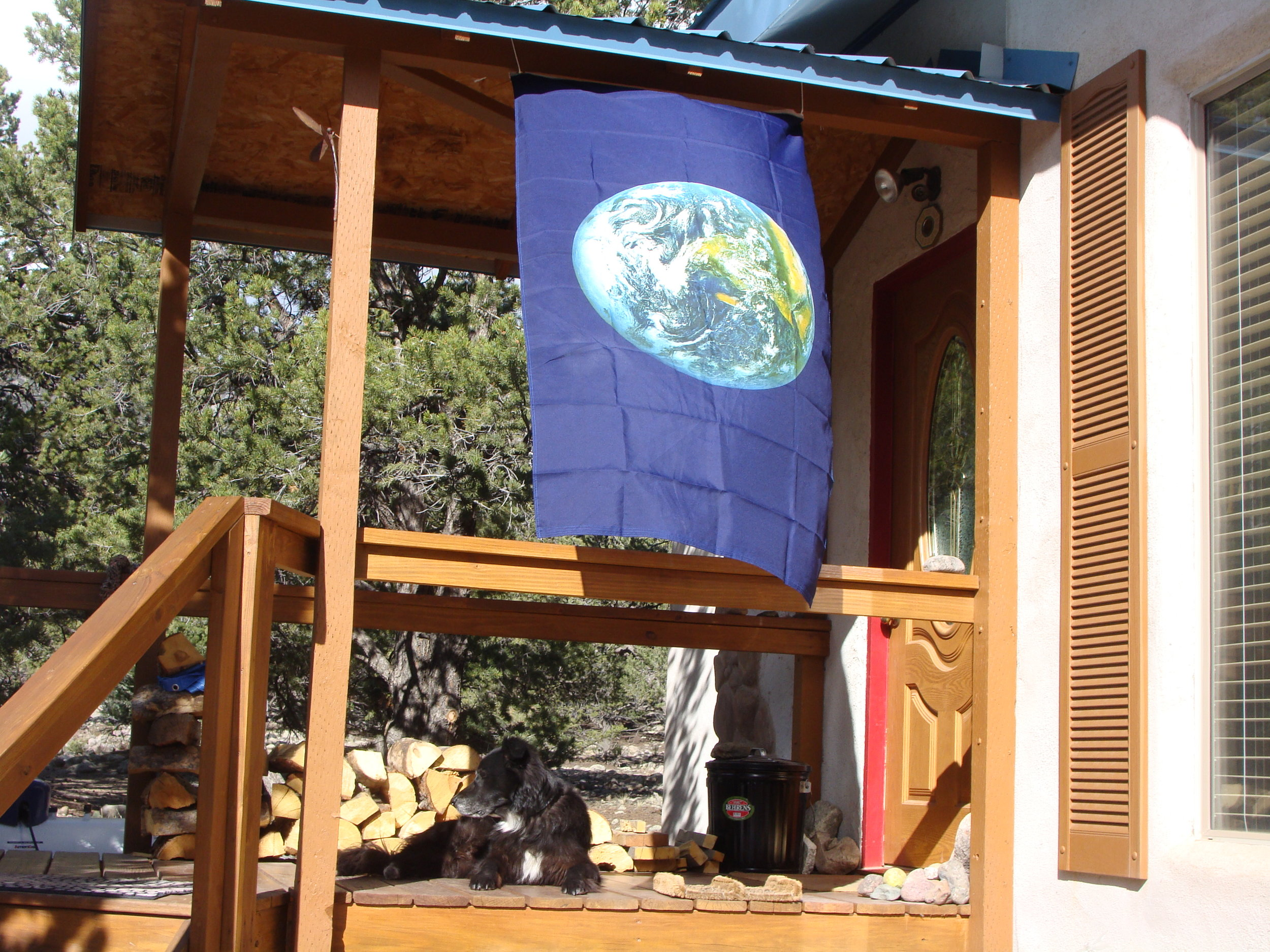 Getting Ready for Earth Day at the Dragonfly House!