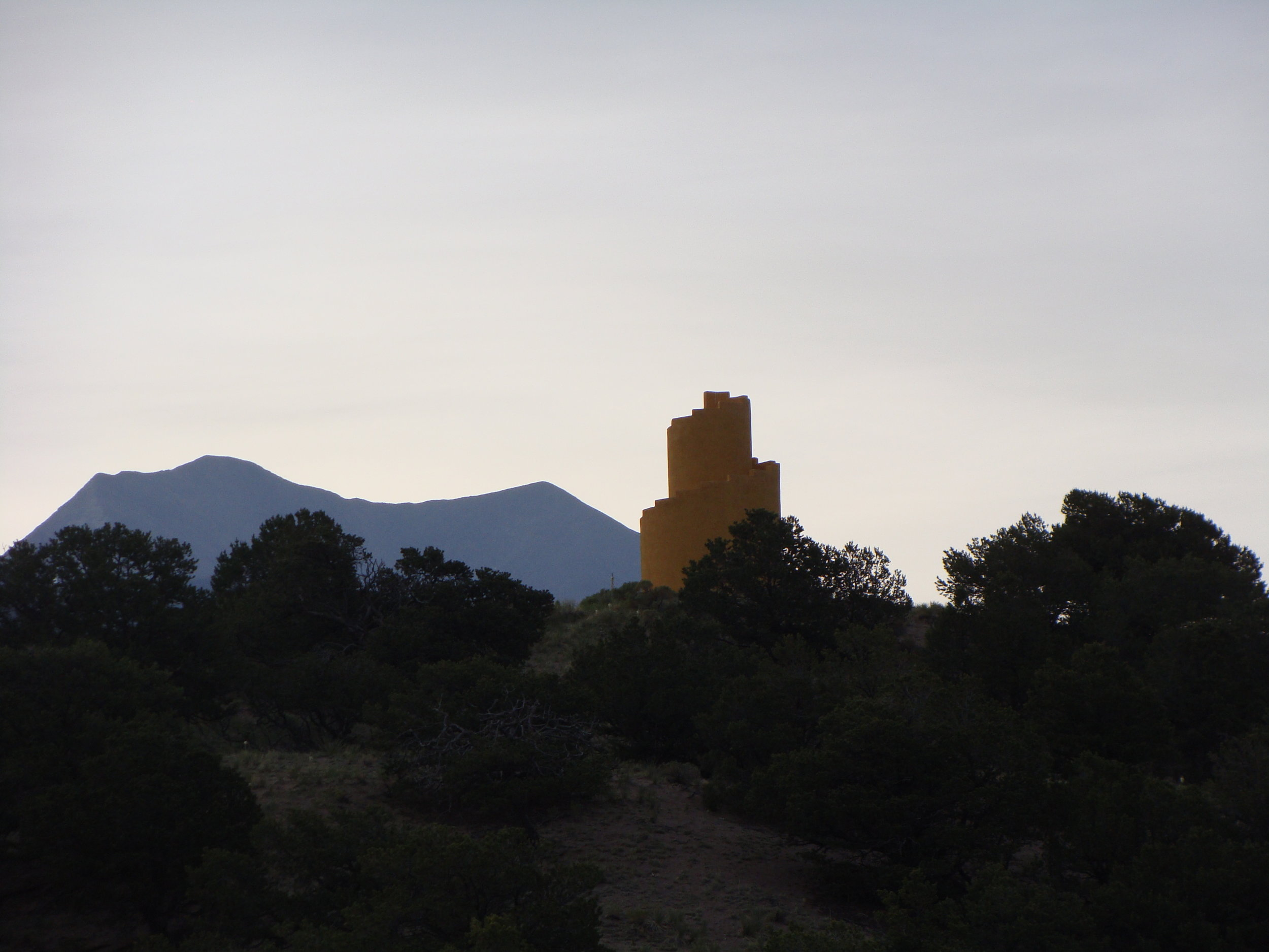 An early morning Solstice hike to the Ziggurat.