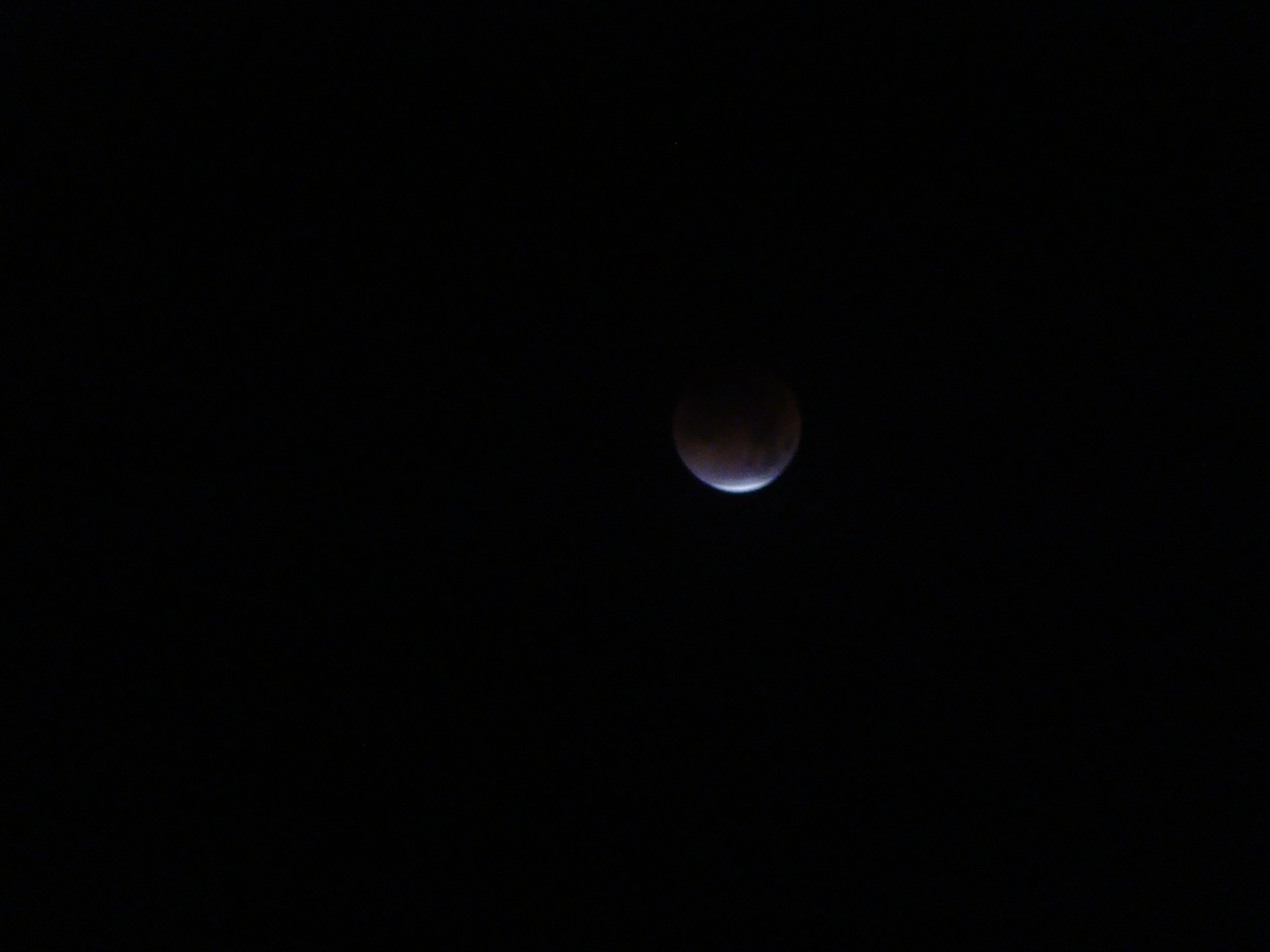 Eclipsed Moon - January 31, 2018