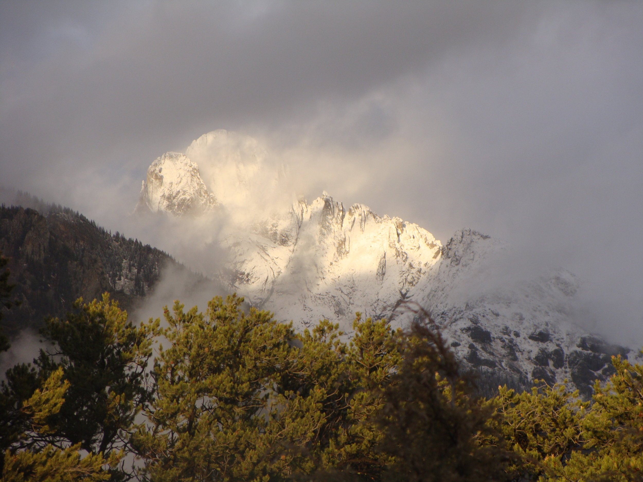 … and Snow Falls on the Sacred Sangres