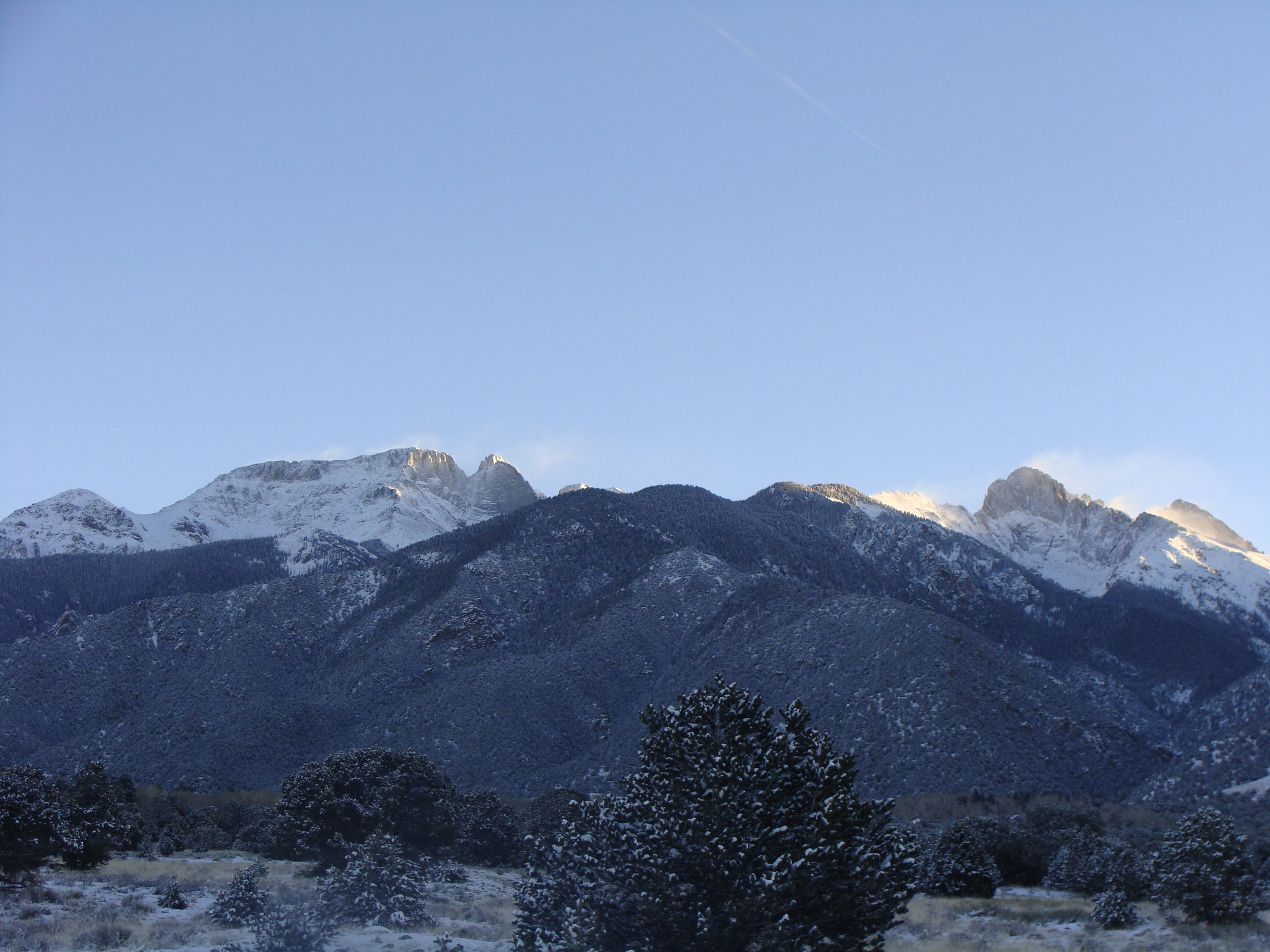 Winter Blessings from the Sangre de Cristo Mountains