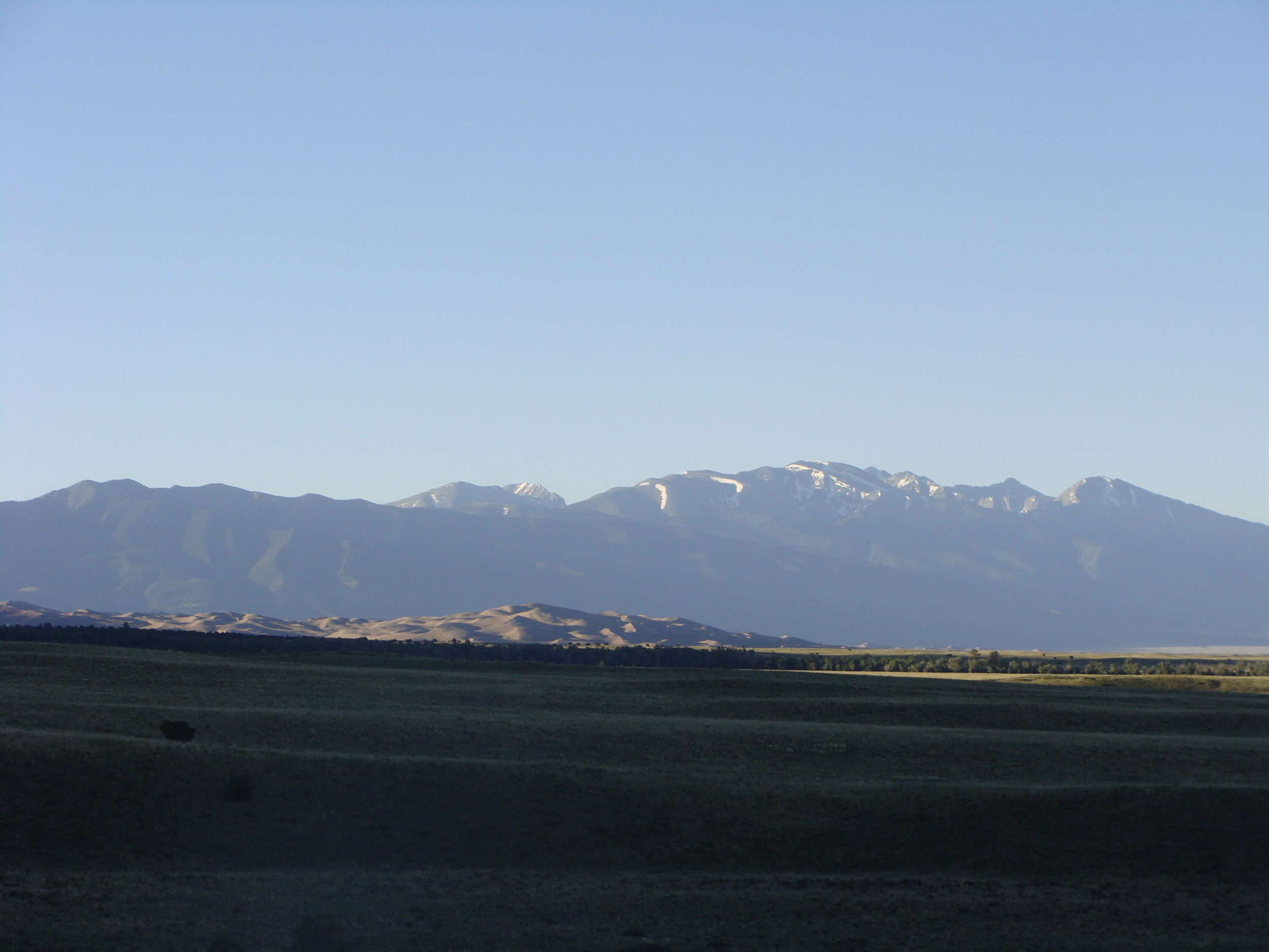 Early Morning Sun on the Great Sand Dunes