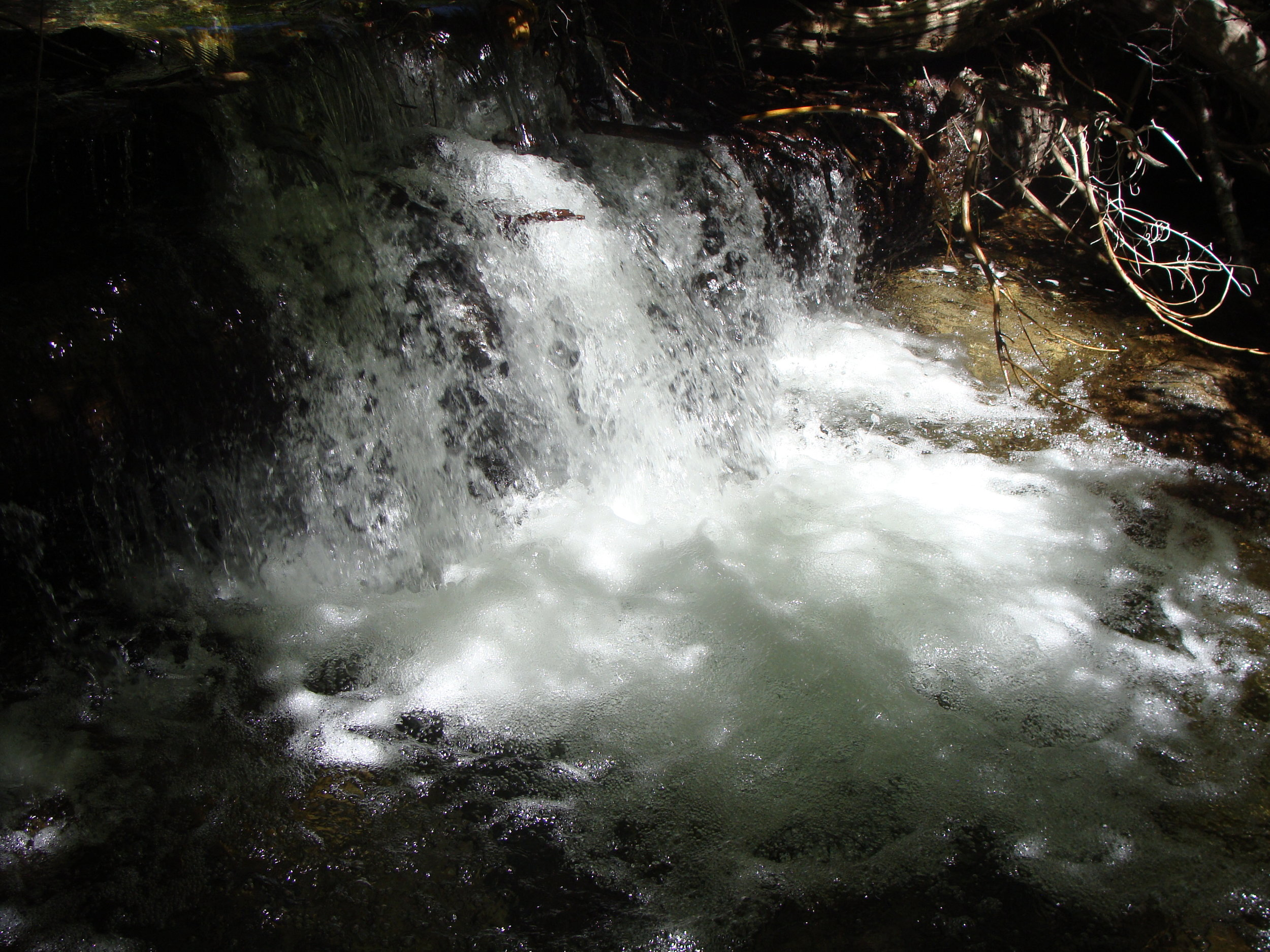 Waterfall on Cottonwood Creek - The Flow of Life