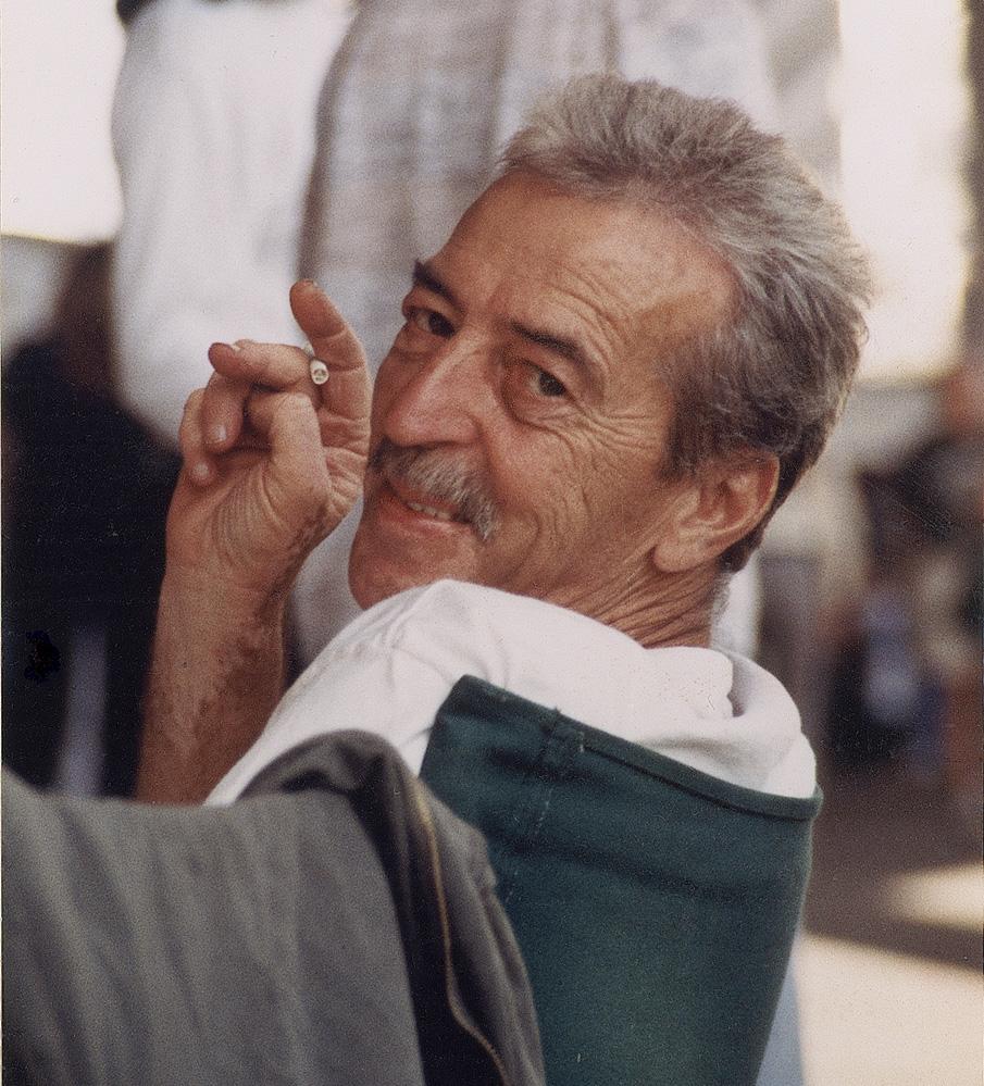 Theo at the '98 Gasparilla Art Fair