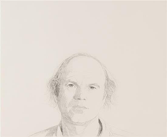 "Mentors/James Rosenquist, 1976, stipple etching, 18"" x 24"""
