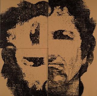 "Rauschenbox, 2008, acrylic on canvas, 60"" x 60"""