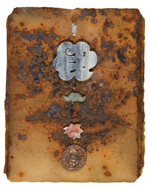 "Untitled, 2011, mixed media, 11 3/8"" x 9 1/8"""