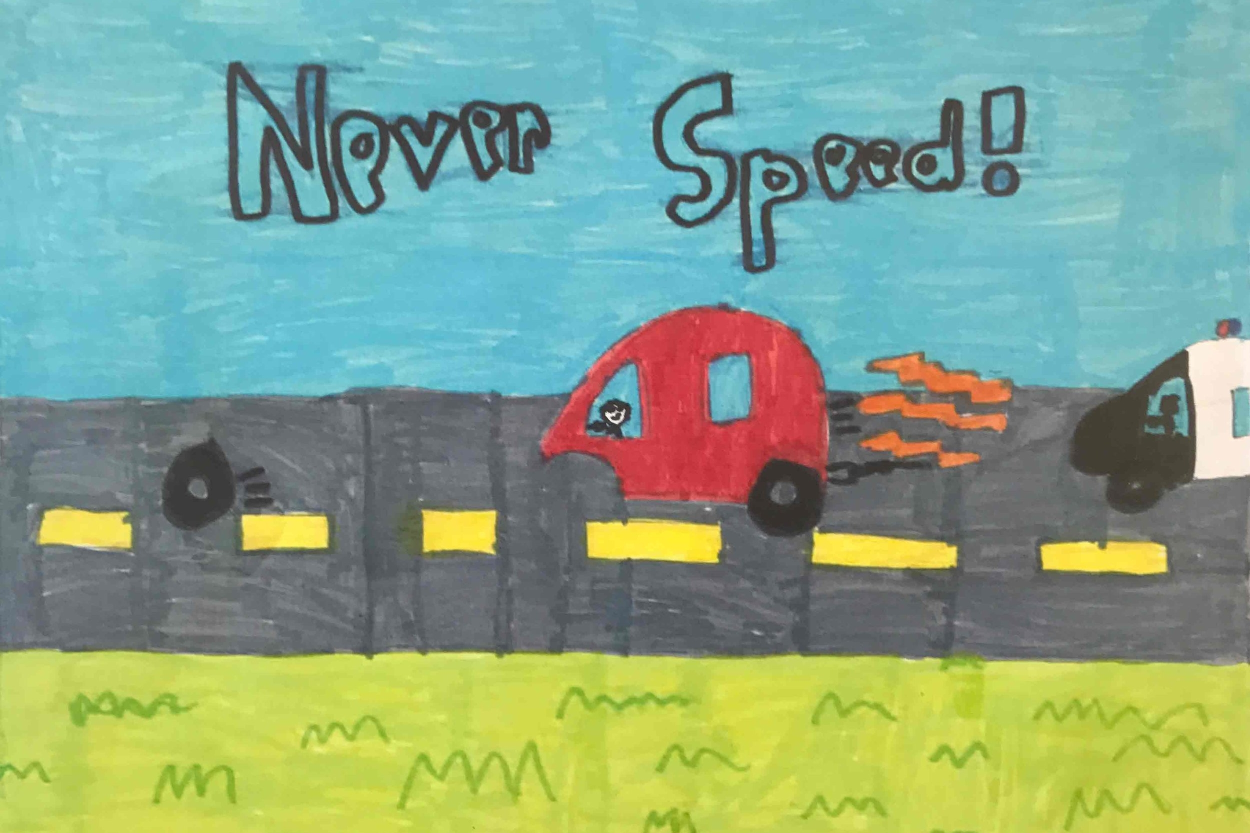 RUNNER-UP:  Dean Lawson, P3, Struthers PS, South Ayrshire
