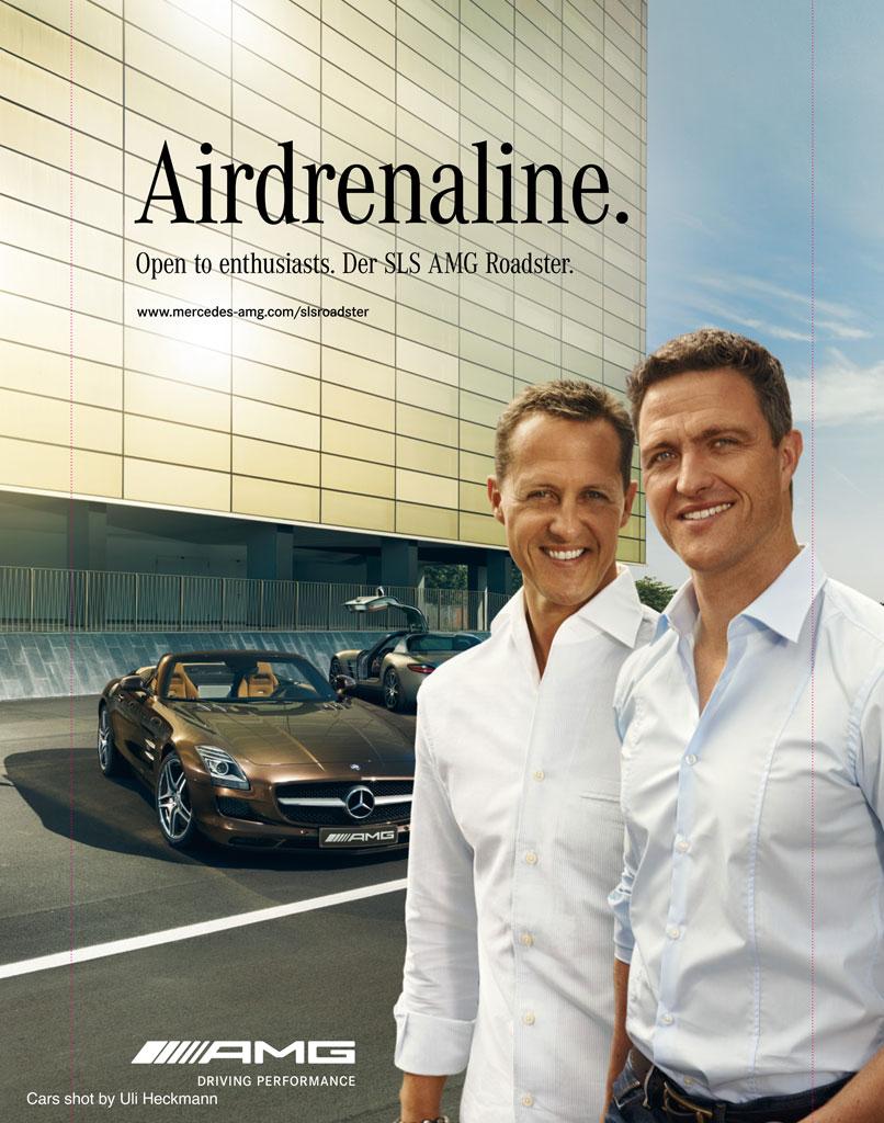 Ralf & Michael Schumacher for AMG