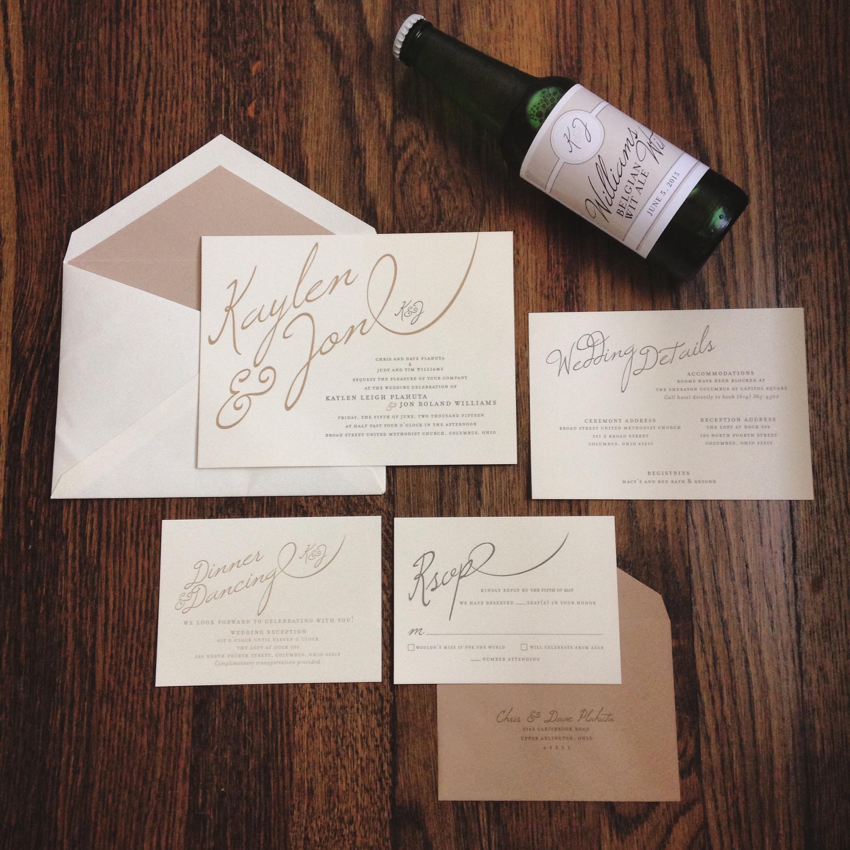Kaylen + Jon Invitation Suite