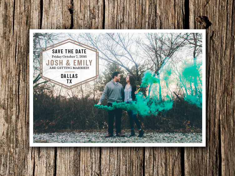 Josh + Emily Save the Date