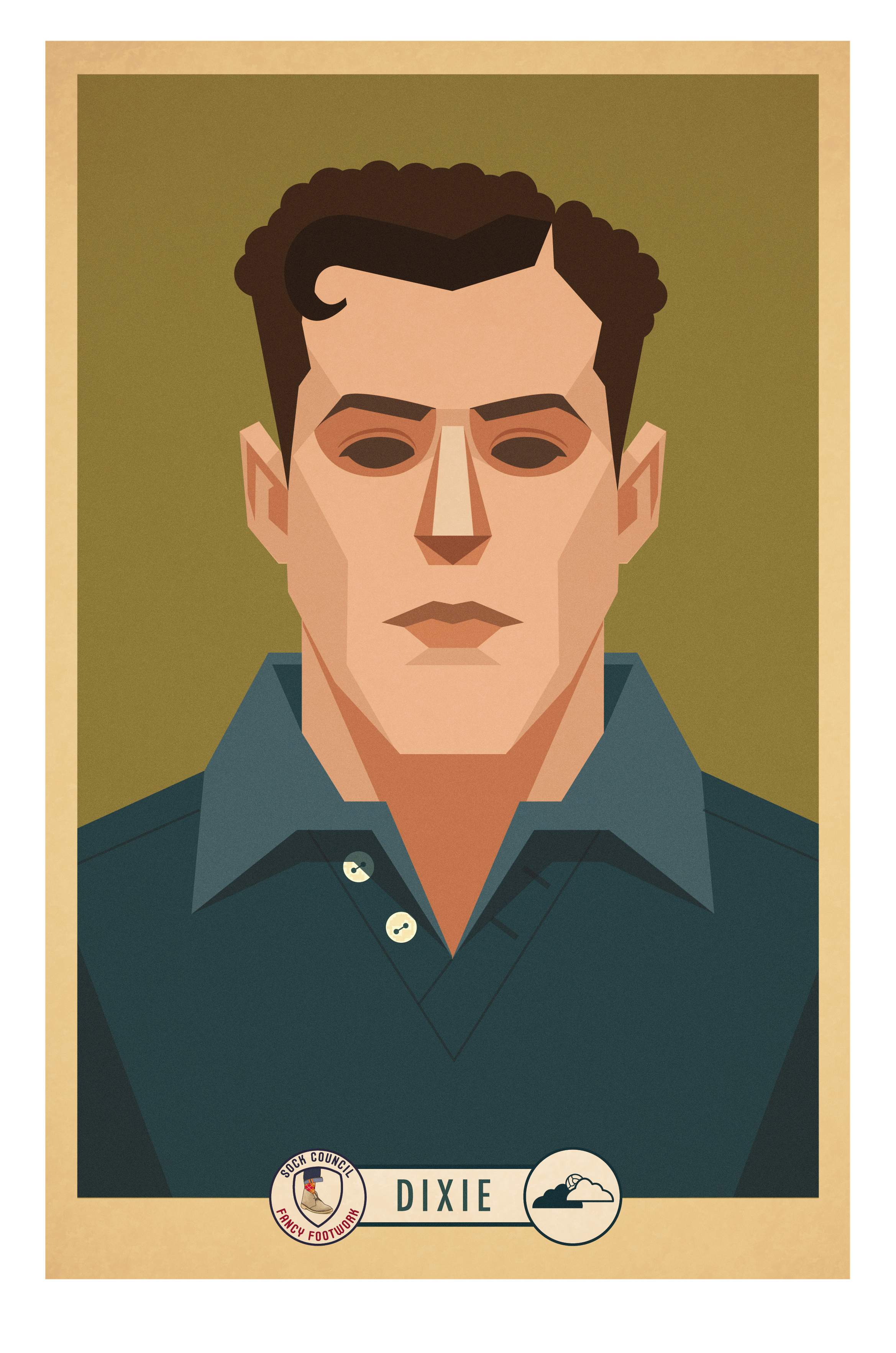 Marcus Reed Dixie Cigarette Card