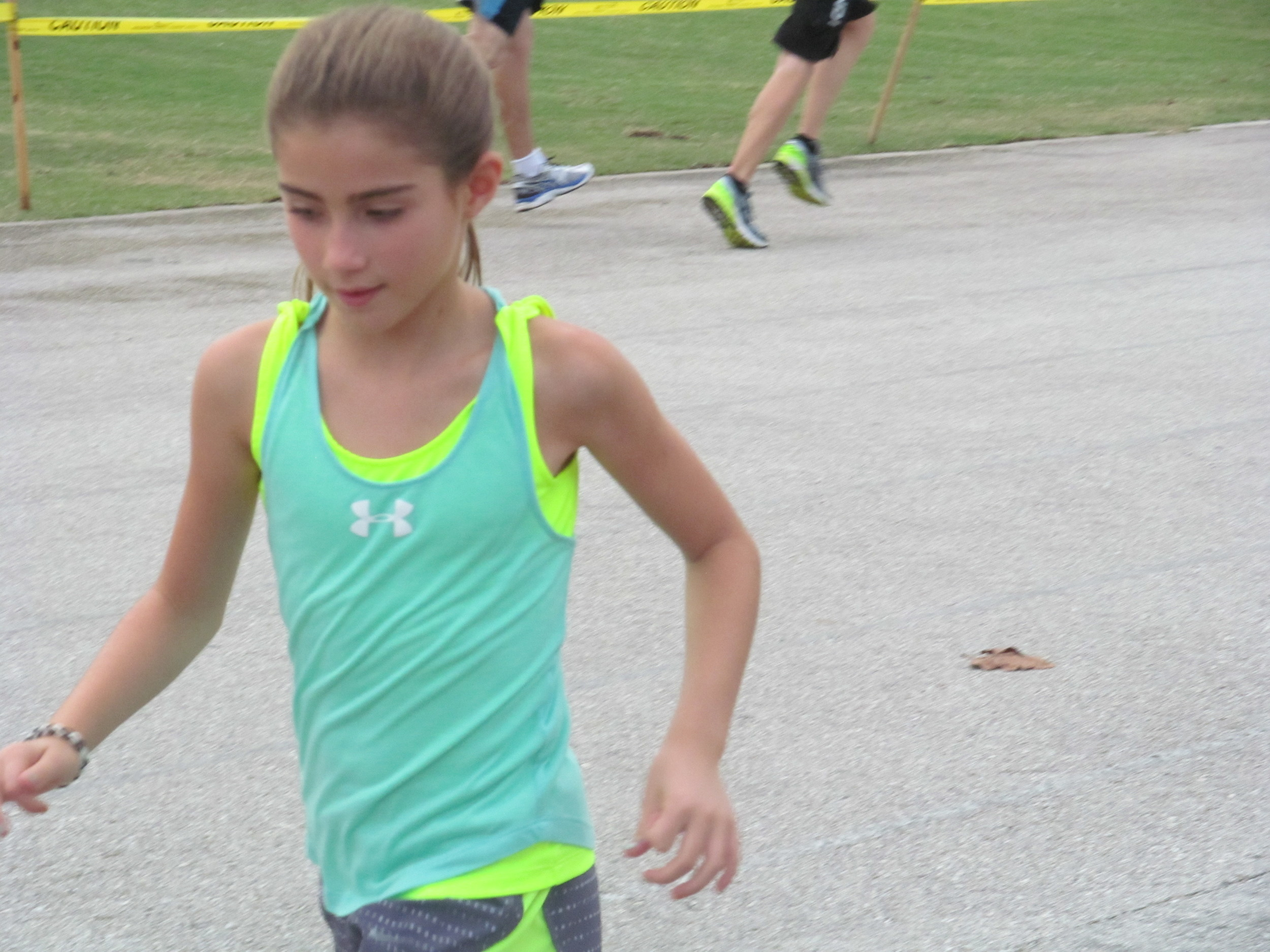 "Walden ""wallaby"" runner practicing hard."
