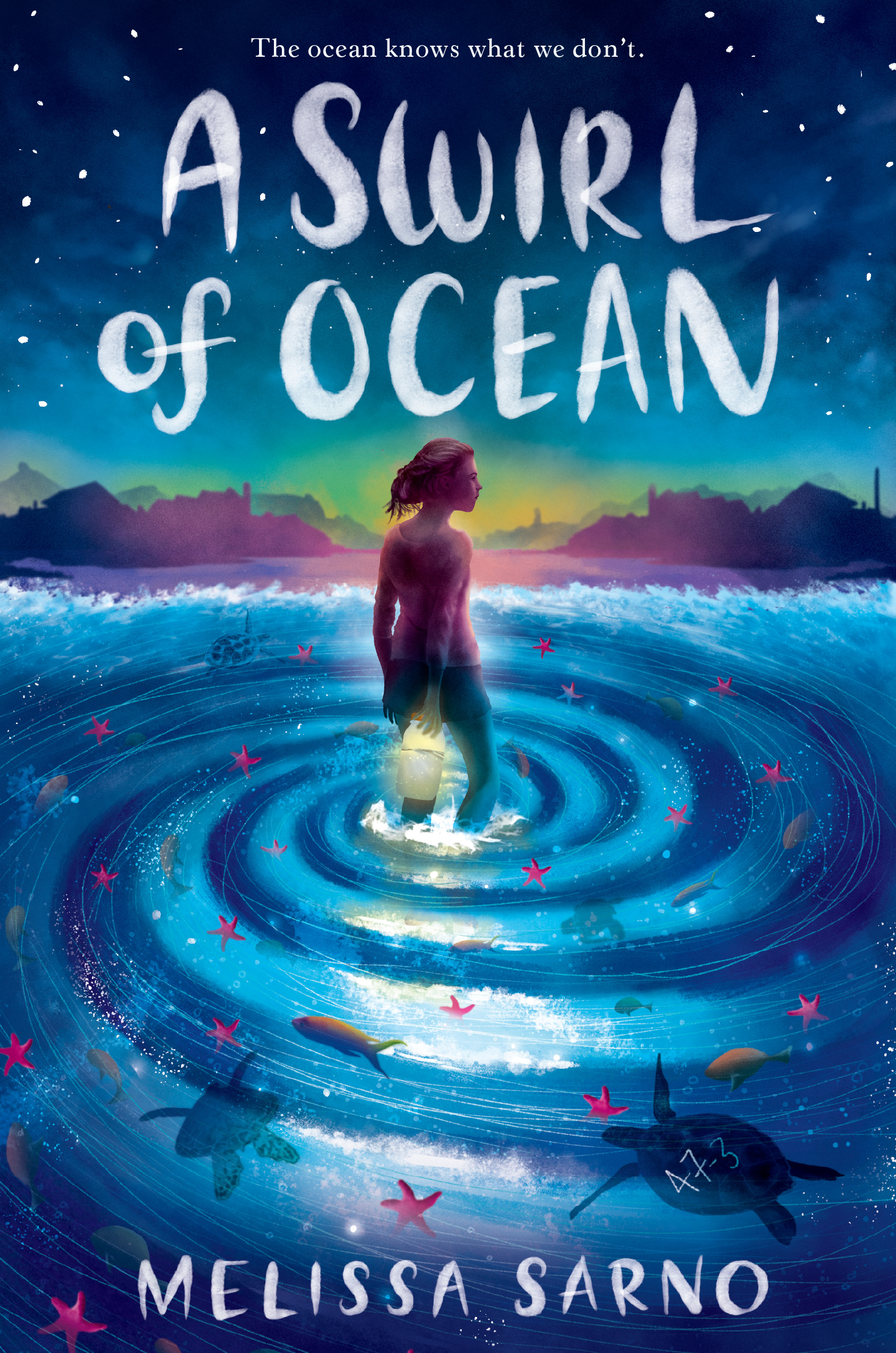 A Swirl of Ocean  by Melissa Sarno  Knopf BYR —- August 6, 2019