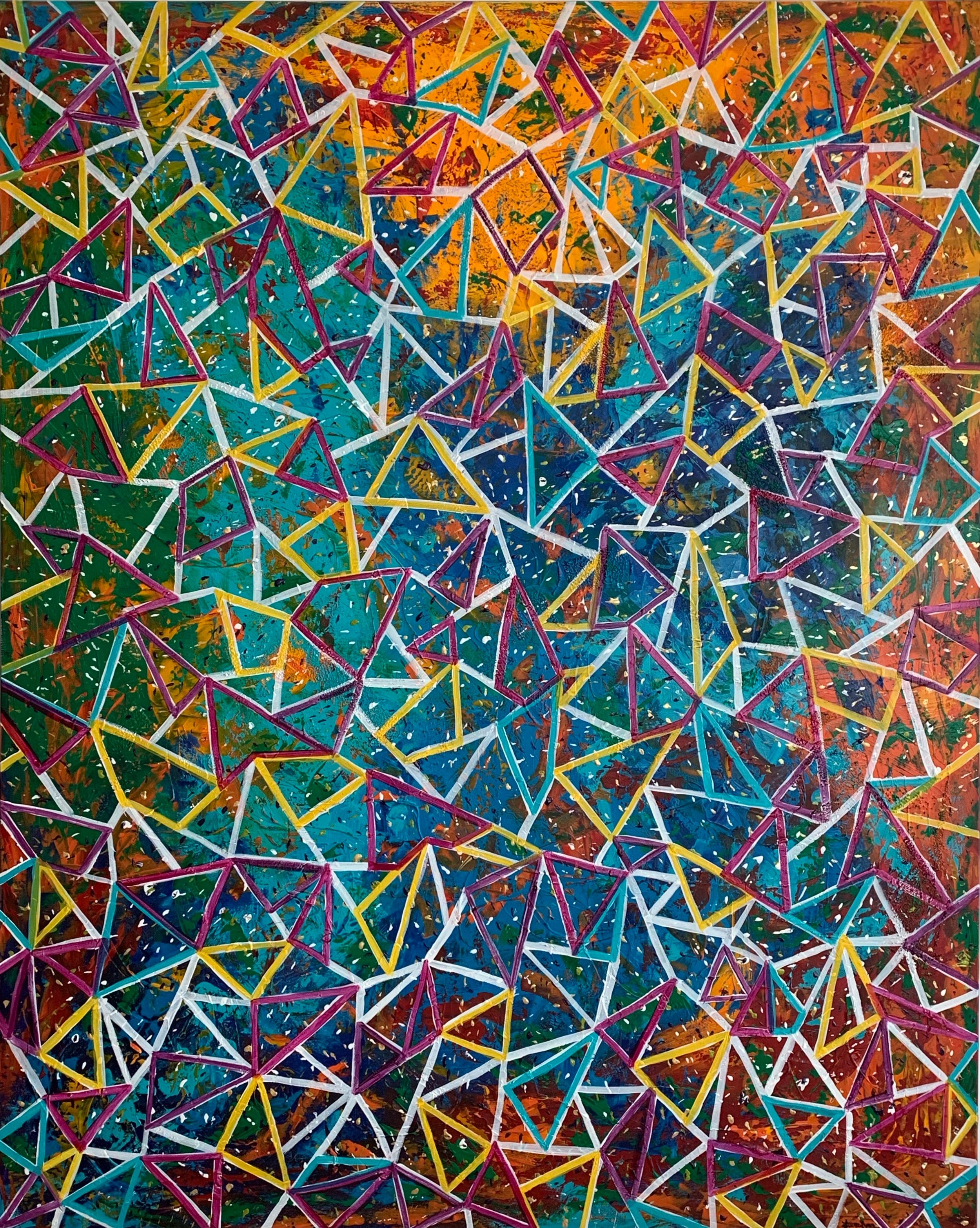 Kaleidoscope - 48 x 60