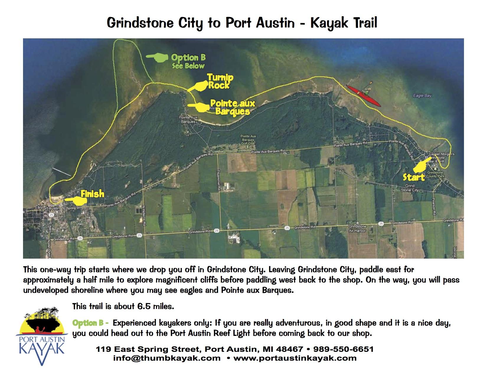 Grindstone to Port Austin