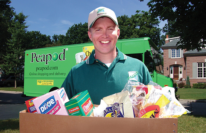 Grocery delivery services may offer opportunities for closed-loop packaging reuse