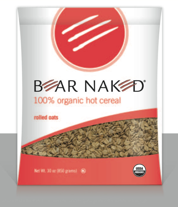 The simplicity of this granola packaging ties in with a trend toward brands with an authentic, transparent feel.