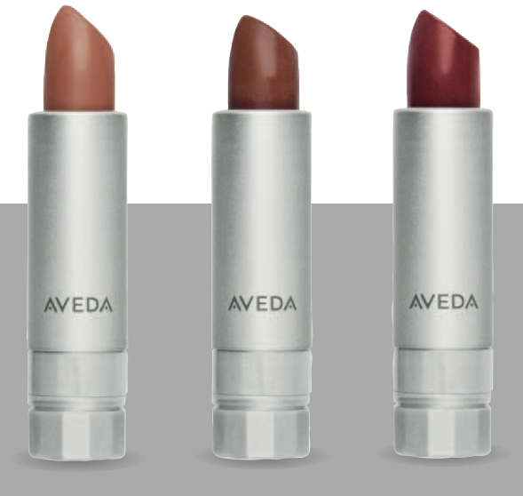 Aveda has led the sustainable packaging trend with products like Nourish-Mint, a lip color housed in a refillable, recycled resin lip case.