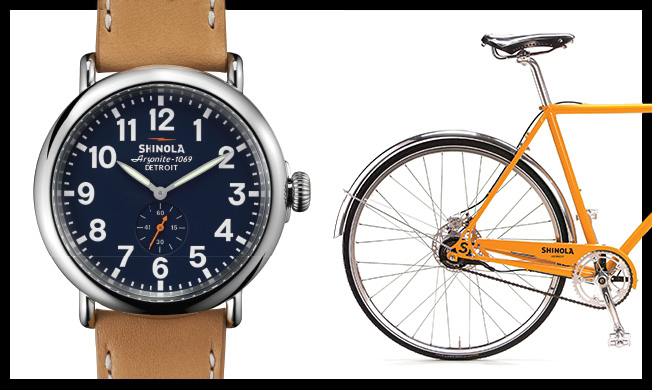 Timepieces got Shinola noticed, but now it's becoming known for products like bikes—thanks to Jimmy Kimmel. Courtesy Shinola