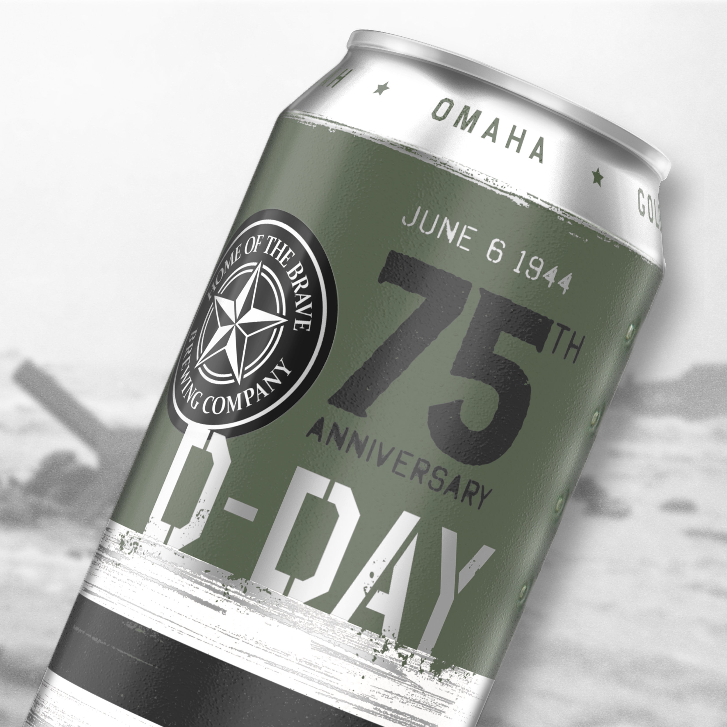 D-Day Commemorative Branding
