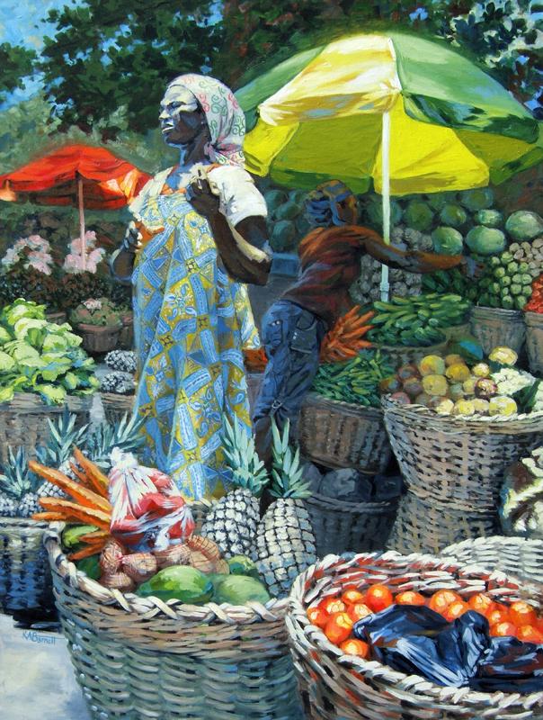 Ghanaian Farmer's Market