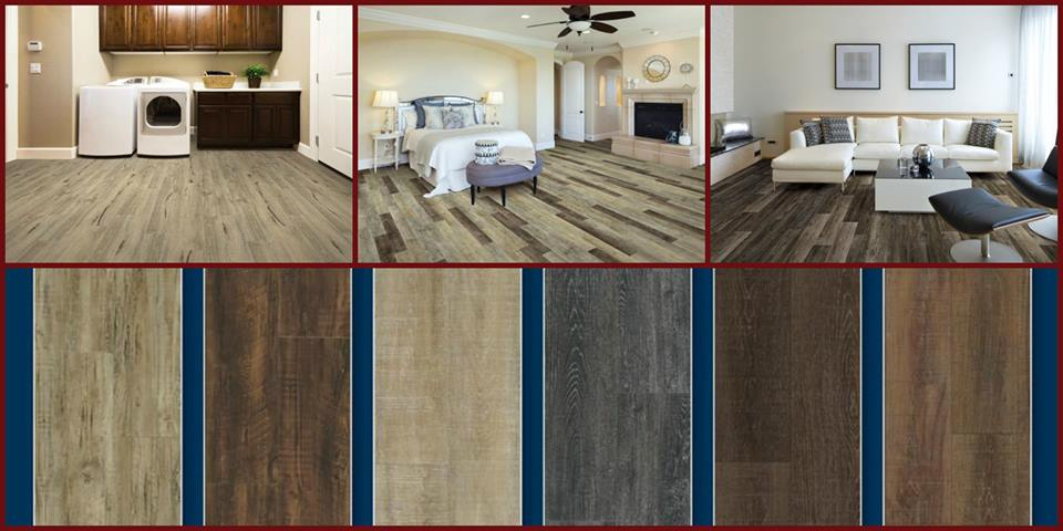 """""""I can picture CoreTec's new Vinyl Plank Designer Series in my own home! It looks great, is incredibly durable, waterproof, and can be installed over existing hard surface floors. CoreTec is currently working on a flush-mount stair nosing - Yes, it's the little things that excite me"""" _____Marie"""
