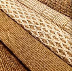 Sisals, Seagrass & Jute - Farmed from nature's fibers, Natural Fiber Floors are grown by...sustained in... and biodegradable with... Nature! When purchasing Natural Fiber Floors, look for natural backings as well. These textural stunners are available as custom area rugs, wall-to-wall installations and stair runners.