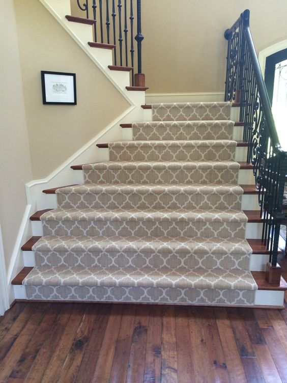 Patterned Stairs - Tuftex Carpets