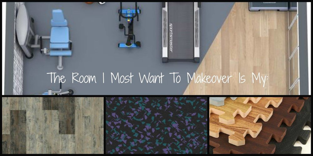 2. Get Fit - We're adding a RE-solution to this ever-popular resolution that just happens to be the best excuse for a whole room makeover! No getting ready for the gym, just a short stroll down the hall to your work-out room. Our decor strategy: Work from the floors up by selecting floors that are designed for fitness, are dent-proof, and have shock absorption to put a little spring in your step.