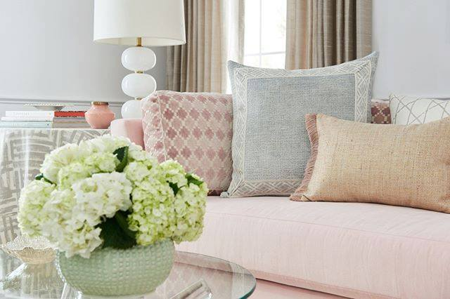 Custom Pillows - Refresh your space with a pretty palette for Spring